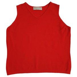 Fabiana Filippi-Knitwear-Red
