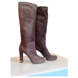 Louis Vuitton-Boots-Taupe