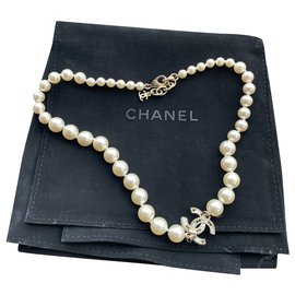 Chanel-Necklaces-White