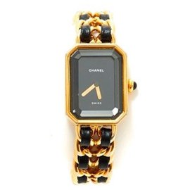 """Chanel-CHANEL """"Première"""" watch in good condition (for small wrist)-Black"""