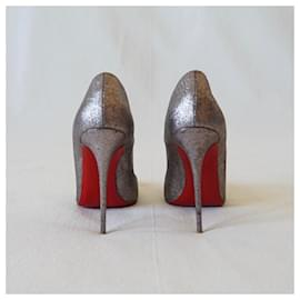 Christian Louboutin-Heels-Multiple colors,Metallic