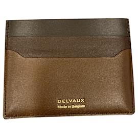 Delvaux-Purses, wallets, cases-Brown