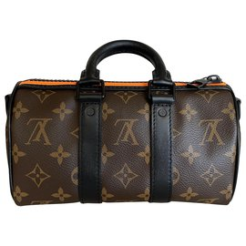 Louis Vuitton-Zoom with Friends Keepall XS Monogram-Brown