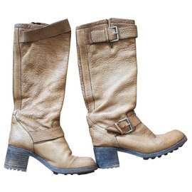 Free Lance-Boots-Caramel