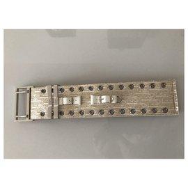Dior-Bracelets-Argenté,Beige