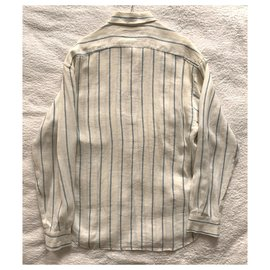 D&G-Stripes linen shirt-Multiple colors