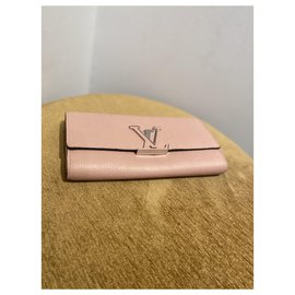 Louis Vuitton-Purses, wallets, cases-Pink
