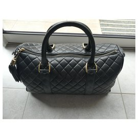 Chanel-Chanel bowling gm bag-Black