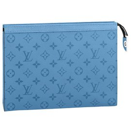Louis Vuitton-LV Pochette Voyage MM-Blue