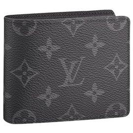 Louis Vuitton-LV slender wallet eclipse-Grey