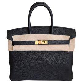 Hermès-Birkin 25-Noir