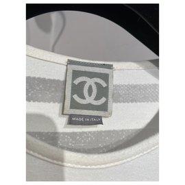 Chanel-Chanel T shirt-White