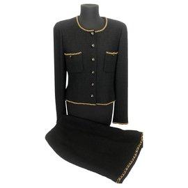 Chanel-Chanel tailor-Black