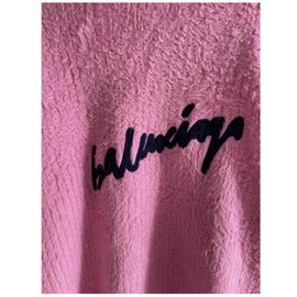 Balenciaga-pull oversized-Pink