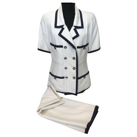 Chanel-Chanel tailor-White