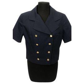 Chanel-Short jacket-Blue