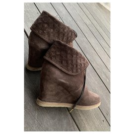 Louis Vuitton-Boots-Dark brown