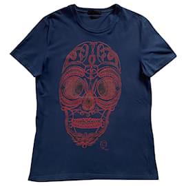 Alexander Mcqueen-T shirt-Navy blue