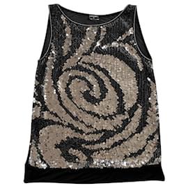 Chanel-Chanel Skirt-Black,Metallic