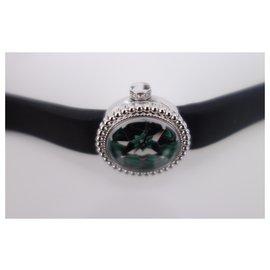 Dior-Montre D de Dior Rose des Vents-Noir,Vert