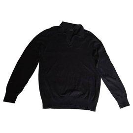 Massimo Dutti-Sweaters-Black