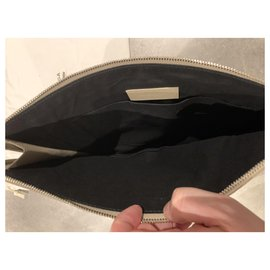 Balenciaga-Clutch bags-Beige