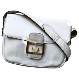 Céline-Céline Classic vintage bag-White