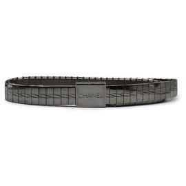 Chanel-Belts-Silvery