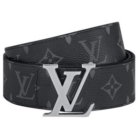 Louis Vuitton-LV Reversible eclipse belt-Grey