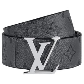 Louis Vuitton-LV eclipse reverse belt-Grey