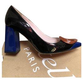 Dior-escarpins-Noir,Rouge,Bleu