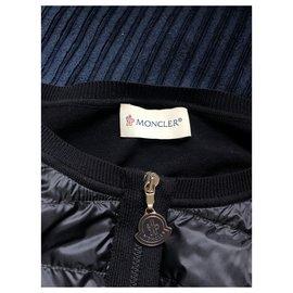 Moncler-Maglia-Bleu Marine