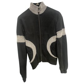 Chanel-Knitwear-Black,Grey