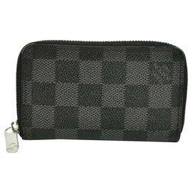 Louis Vuitton-Louis Vuitton Porte monnaie Zippy-Grey