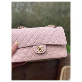 Chanel-Classic Medium lined flap-Pink
