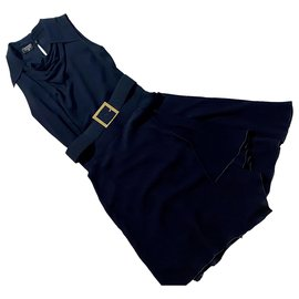 Chanel-Jumpsuits-Navy blue