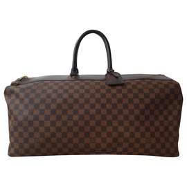 Louis Vuitton-Louis Vuitton Damier Ebene Neo Greenwich GM Travel Bag-Brown