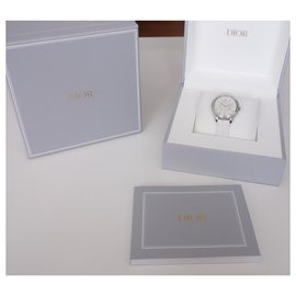 Dior-Montre Dior VIII Montaigne-Blanc