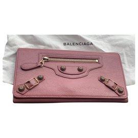 Balenciaga-Wallets-Pink