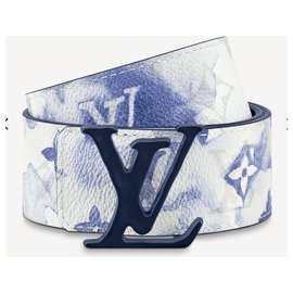 Louis Vuitton-LV Belt watercolor new-White