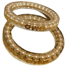 Chanel-Bracelets-Golden,Eggshell