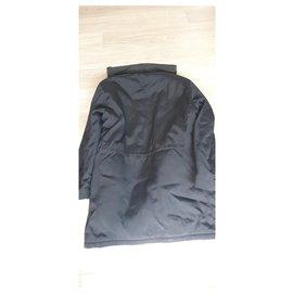 Burberry-Men Coats Outerwear-Black