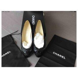 Chanel-Superb new Chanel ballerinas-Black