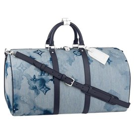 Louis Vuitton-LV Keepall 50-Blue