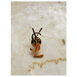 Yves Saint Laurent-Pin YSL-Golden