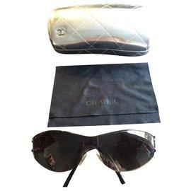 Chanel-Chanel mask glasses-Black