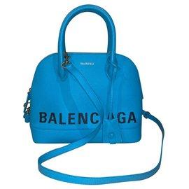Balenciaga-Balenciaga Top handle S turquoise New never used-Turquoise