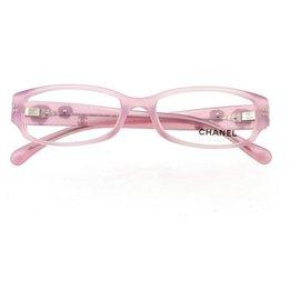 Chanel-Camellia Eye Glasses-Pink