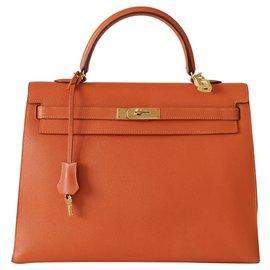 Hermès-Handtaschen-Orange