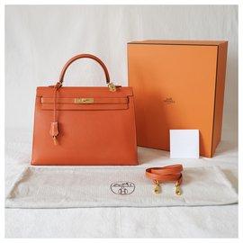 Hermès-Bolsas-Laranja